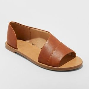 Women's Asymmetrical Slide Sandals